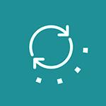 Seamless integration icon